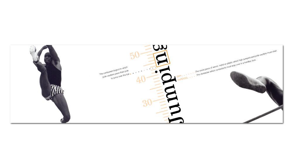 Track & Field Promotional Brochure