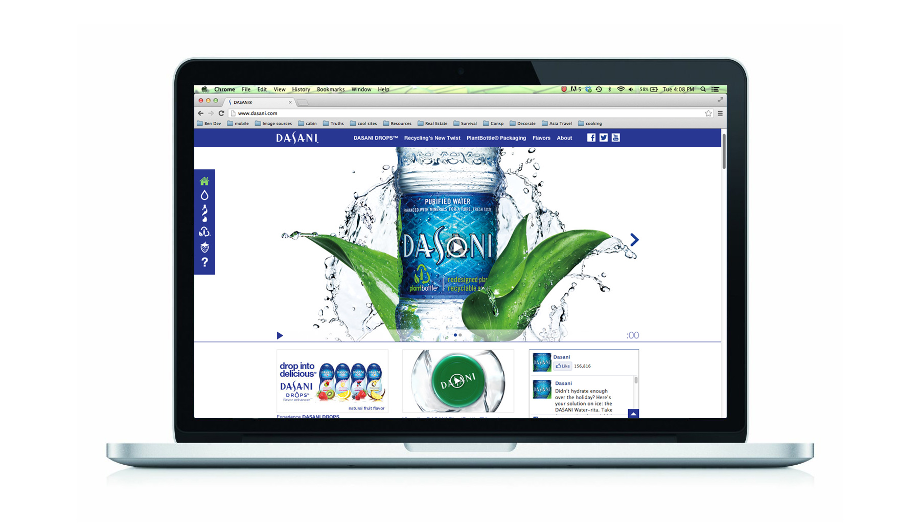 Dasani Website