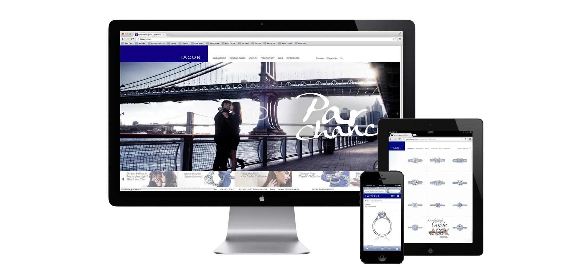 Tacori Jewelry Website